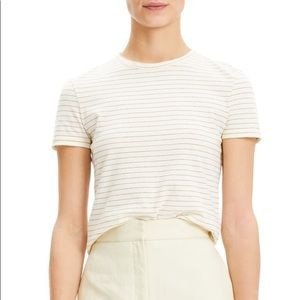 Theory Organic Cotton Shima Stripe Tiny Tees